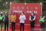 Presiden Jokowi : Vaksinasi dengan cara
