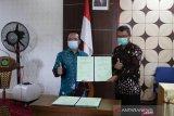 Dinso-P3A Kulon Progo tandatangani perjanjian kerja sama penyaluran BPNT
