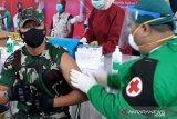 62 personel Kodim 1016/Plk selesaikan vaksinasi dosis kedua