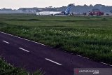 Pesawat Trigana Air tergelincir, Bandara Halim Perdanakusuma ditutup sementara