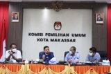 KPU RI monitoring evaluasi e-Coklit pemilu di Kota Makassar
