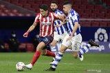 Gol semata wayang Suarez kokohkan Atletico di puncak klasemen
