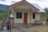 Satgas TMMD Kodim Jayawijaya tetap semangat rampungkan bangunan rumah warga