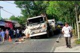 Ini video tabrakan beruntun di jalan Praya-Kopang, satu tewas