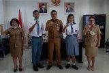 Dua siswa Minahasa Tenggara ikuti seleksi Paskibraka nasional