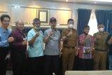 Wali kota Sawahlunto Deri Asta Dukung Adinegoro Jadi Pahlawan Nasional, Tatap Muka PWI dan MSI Sumbar