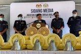 Malaysia gagalkan kejahatan narkoba senilai Rp17,5 triliun