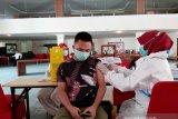 710 pekerja hotel dan restoran di Kota Palu  jalani vaksinasi COVID-19