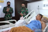 Kasad  Andika beri kejutan  prajurit korban kecelakaan MI-17