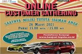Harga Toyota turun hingga puluhan juta rupiah, ikuti online Customer Gathering Jum'at 26 Maret 2021!