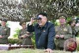 Korea Utara tembakkan dua rudal jarak pendek, ini tanggapan Biden