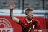 De Bruyne belum diskusikan menit bermain di timnas Belgia