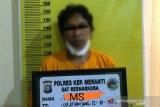 Pria Meranti ini diringkus polisi saat meracik sabu