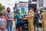 Kampung Sehat 2, Desa Jorok bagikan bibit tanaman herbal kepada warga