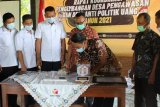 Bawaslu Kudus gandeng Desa Wonosoco  sebagai pengawas partisipatif