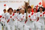 Kirab obor Olimpide Osaka akan dilakukan di taman tanpa penonton