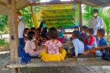 Bhabinkamtibmas Desa Jorok gelar belajar sehat