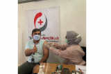 Telkom Lampung jalani vaksinasi COVID-19 dosis kedua