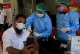 Polres Kupang Kota bantu vaksinasi pegawai KemenPUPR