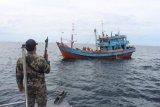 KKP berhasil menangkap lebih 50 kapal pelanggar regulasi selama triwulan I 2021