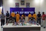 Polres Kepulauan Meranti tangkap belasan tersangka narkoba