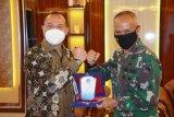 Kakanwil DJKN Papua-Maluku kunjungi Pangdam XVII/Cenderawasih
