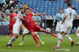 Kualifikasi Piala Dunia 2022 - Dua gol Artem Dzyuba bawa Rusia menang atas Slovenia
