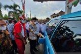 Pertamina meluncurkan program langit biru di Mataram