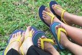 Salah pilih sandal jepit bisa sebabkan masalah otot hingga jamuran