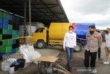 Puluhan ribu botol migor ilegal di Kota Mataram disita