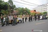 Ledakan Bom di Makassar, Polres Lobar patroli skala besar