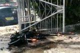 Ada bom meledak di pintu gerbang Gereja Katedral Makassar