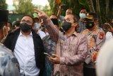 Wali Kota Makassar dampingi Menag tinjau Gereja Katedral