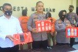 Tiga pengedar narkoba jaringan Karang Bagu ditangkap, sabu disimpan di bawah pohon pisang