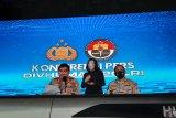 Empat terduga teroris di Makassar dibaiat di markas ormas terlarang