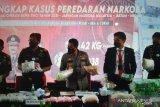 Polri bersama Bea Cukai ungkap peredaran narkoba jaringan Sumatera-Malaysia
