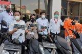 Polresta Bandarlampung tangkap 8 pencuri motor