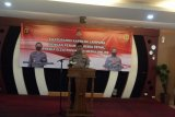 Kapolda Lampung bersilaturahim dengan Pemred media di Lampung