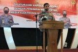 Kapolda Lampung ingatkan jajarannya tindak tegas kejahatan konvensional