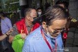Penahanan Tersangka korupsi Masjid Raya Sriwijaya