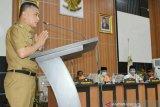 Hadianto Rasyid  sampaikan LKPJ Wali Kota Palu tahun 2020