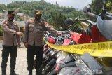Polres Lombok Barat ungkap penggelapan 46 kendaraan bermotor