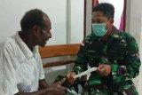 Satgas TMMD Boven Digoel berikan layanan pengobatan warga kampung Wanggom