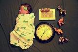 Dokter sarankan bayi dibedong  hanya saat tidur