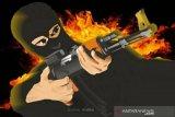 Flash - Seorang terduga teroris ditembak di Mabes Polri