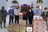 Peduli korban banjir Bandang di Kelurahan Bahu, BSG Cabang Siau salurkan bantuan Sembako