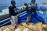 Ditpolairud Polda Sulawesi Tenggara sita 8 ton BBM diduga ilegal di Konawe Utara