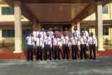 23 anggota Polres Bengkalis naik pangkat, begini penjelasannya
