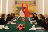 Menlu ASEAN bertemu Menlu China
