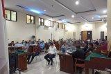 Terdakwa Syahroni mewajibkan rekanan setor